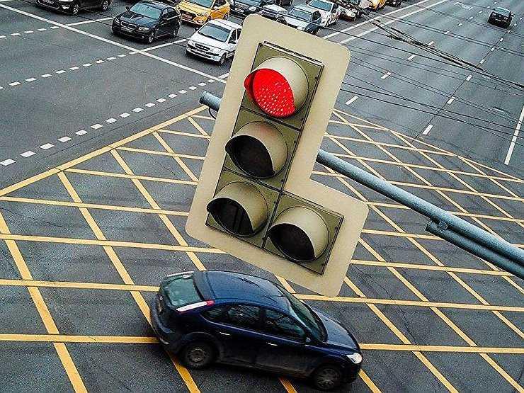 проезд на красный